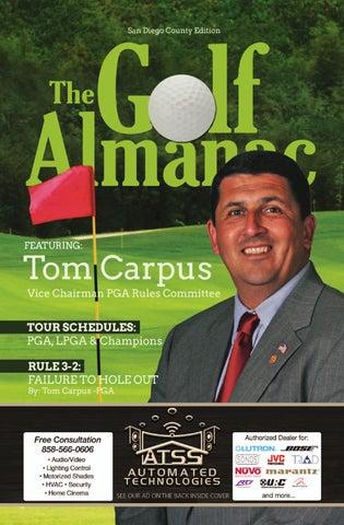 San Diego County Edition By The Golf Almanac Issuu