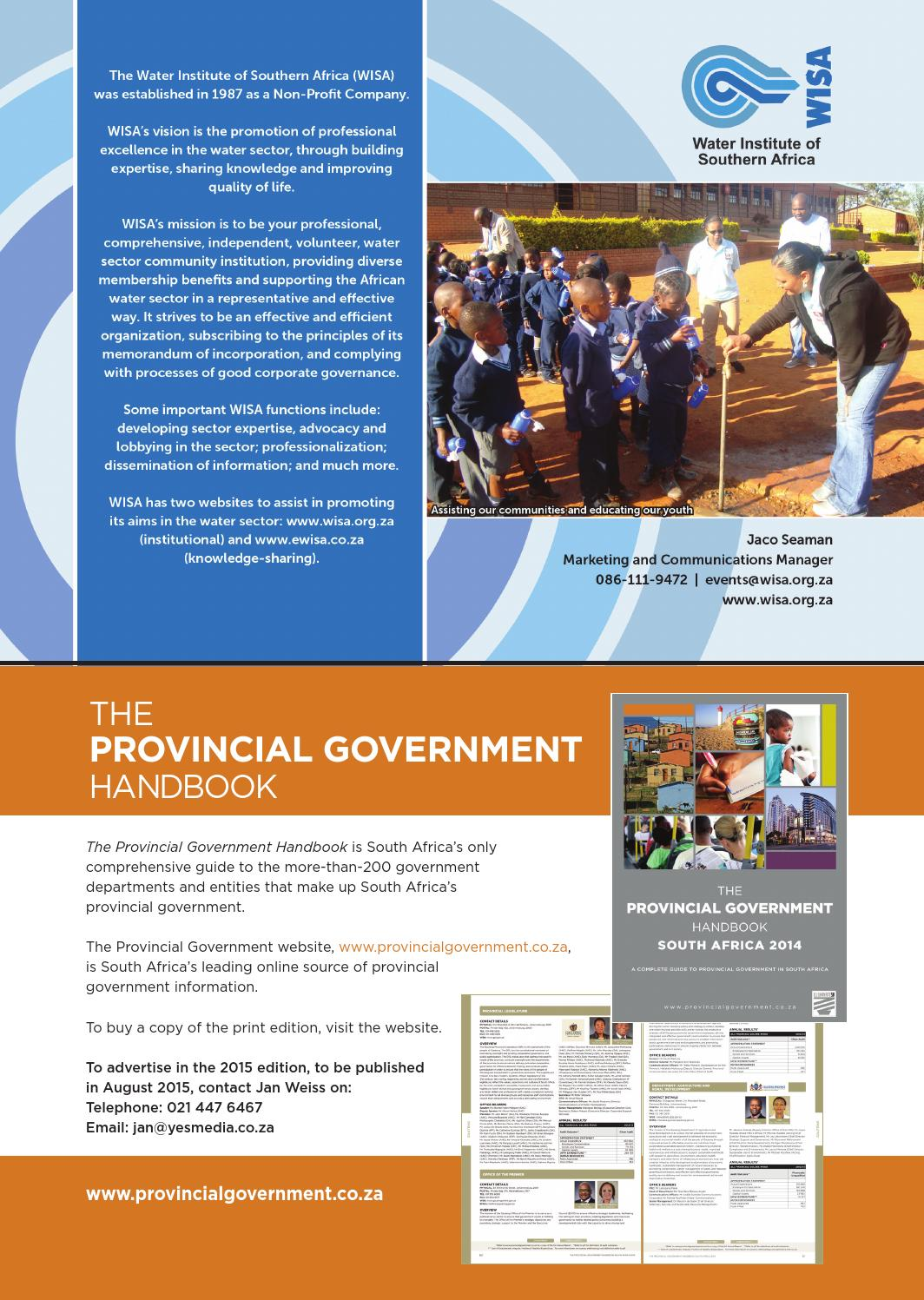 5b0b6cf0f Local Government Handbook - South Africa 2015 by Yes Media - issuu