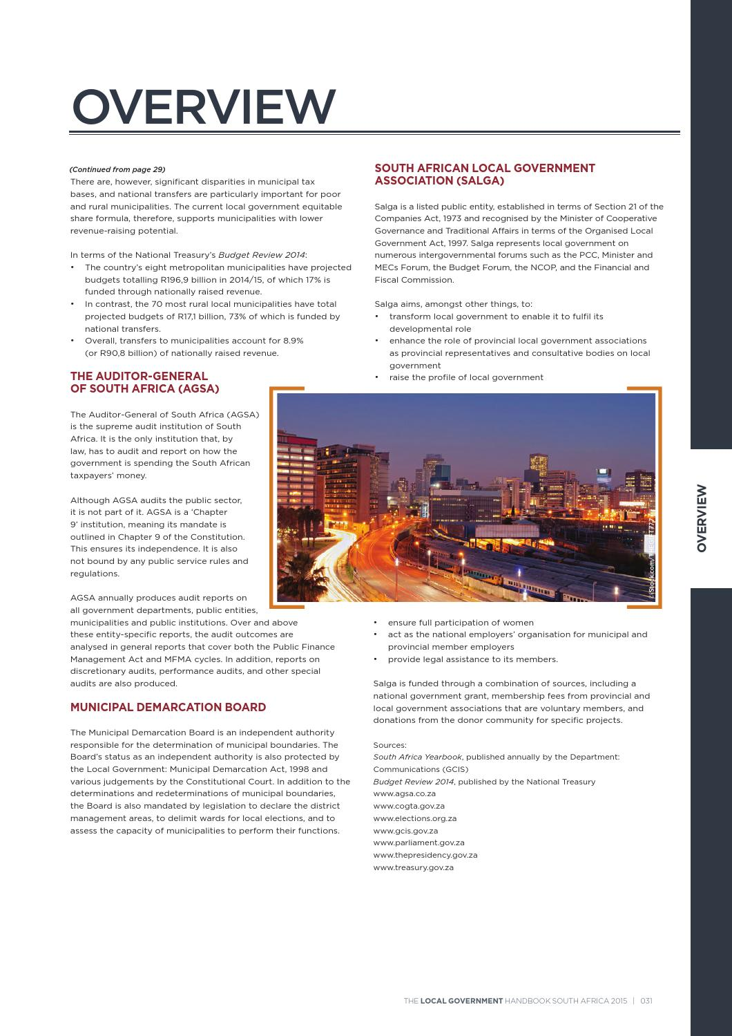 Local Government Handbook - South Africa 2015 by Yes Media - issuu