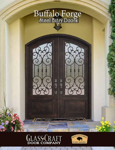 Buffalo Forge Steel Entry Doors