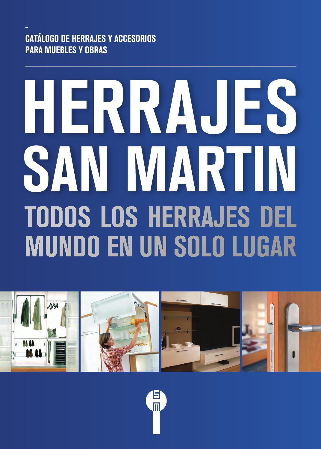 Catálogo de Herrajes San Martín 2015 by Herrajes San Martín - issuu
