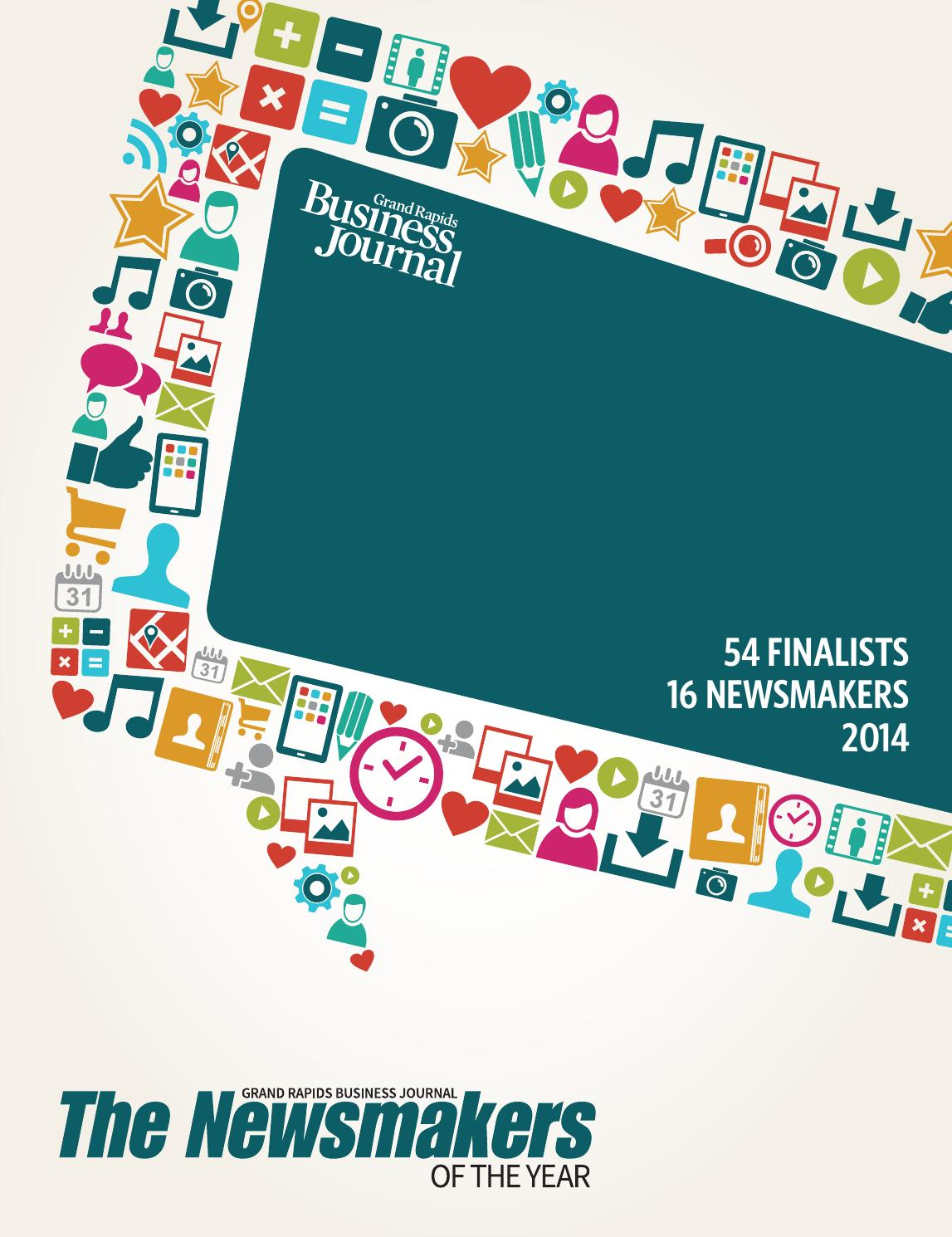 GRBJ - The Newsmakers of the Year - 2014 by Grand Rapids ...
