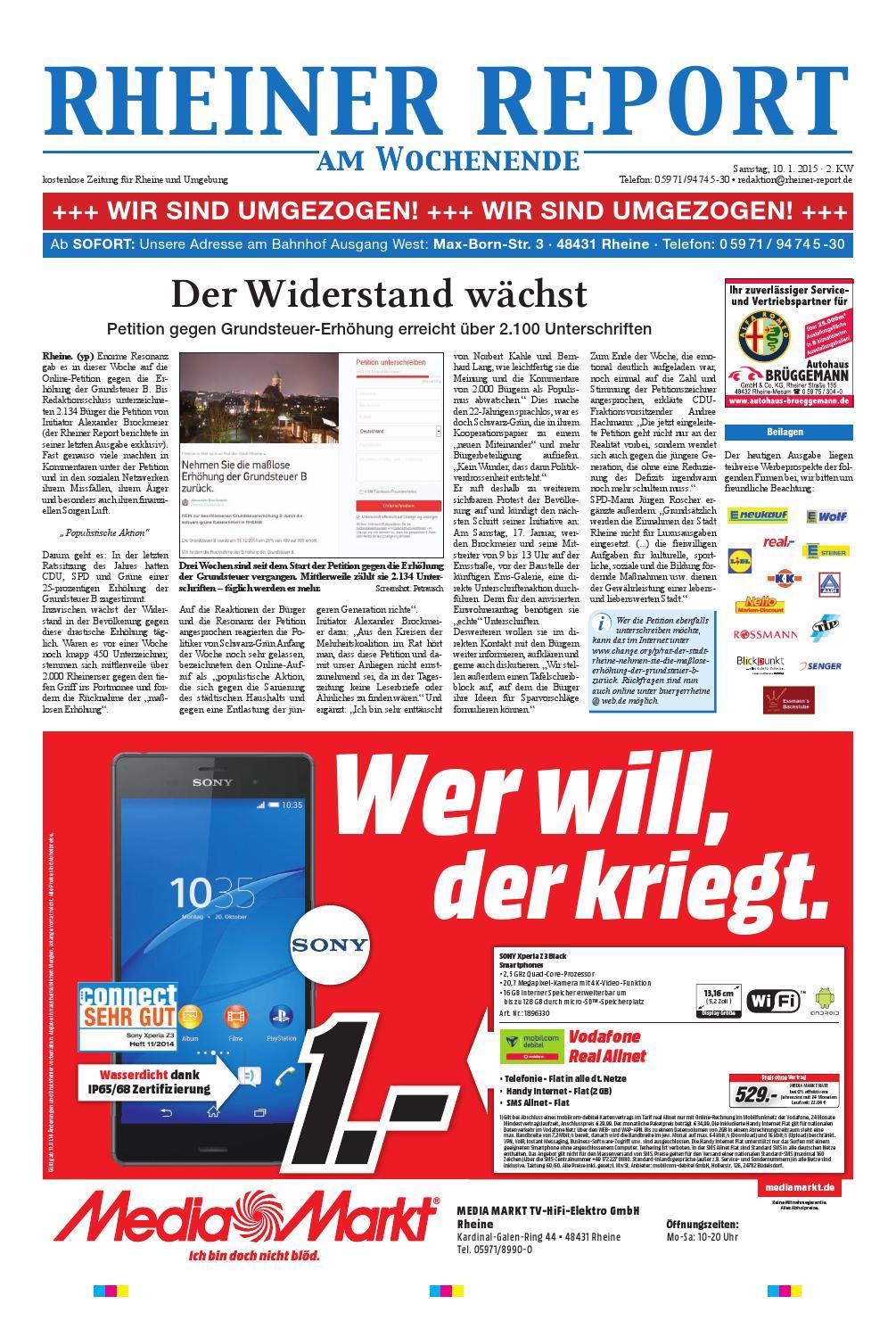 KW02-2015 by Rheiner Report GmbH - issuu