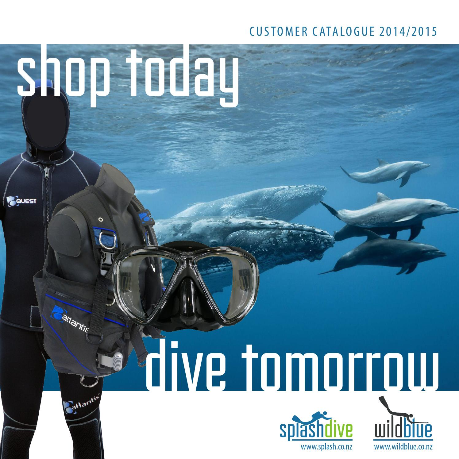 Clip Double female with ring scuba diving equipment dive gear bcd cetacea fish