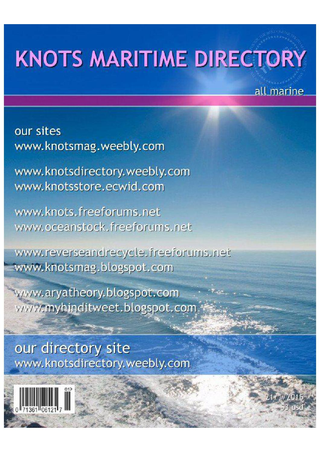 knots maritime directory by anant saxena - issuu