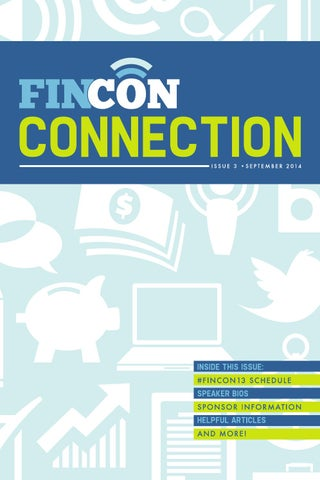 FinCon Connection 2014 by Philip Taylor - issuu
