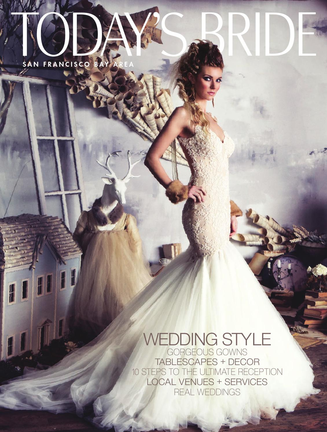 Todays Bride San Francisco 2015 By Issuu Larissa Green Dress Leux Studio