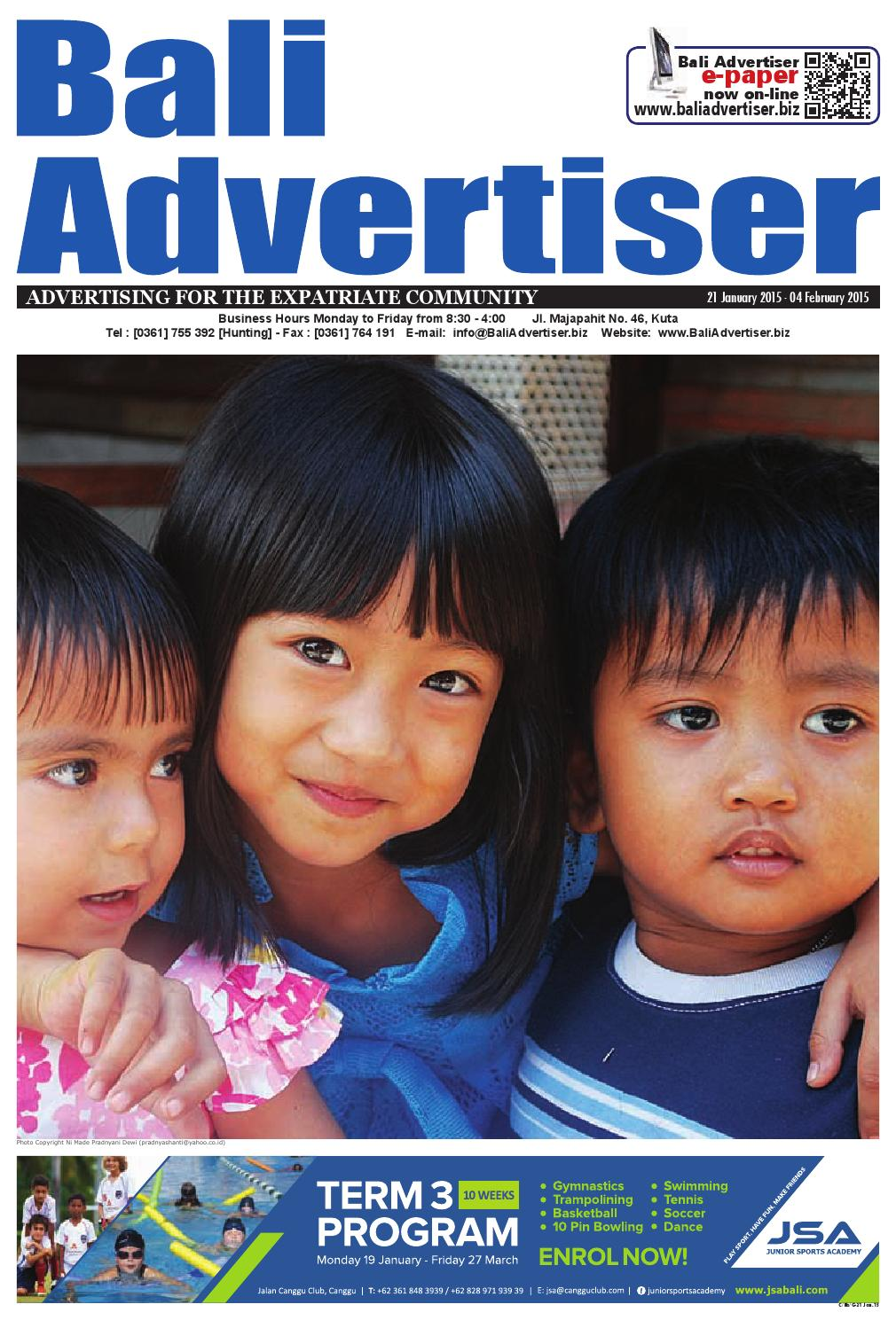Ba 21 January 2015 By Bali Advertiser Issuu Baruu Map Voucher 25juta Bonus 50k