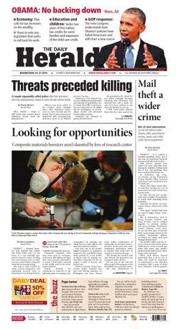 Everett Daily Herald January 21 2015 By Sound Publishing Issuu