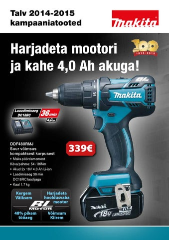 b334ba7c4de AS Mass Makita talvekampaania 2014 2015 by AS MASS - issuu