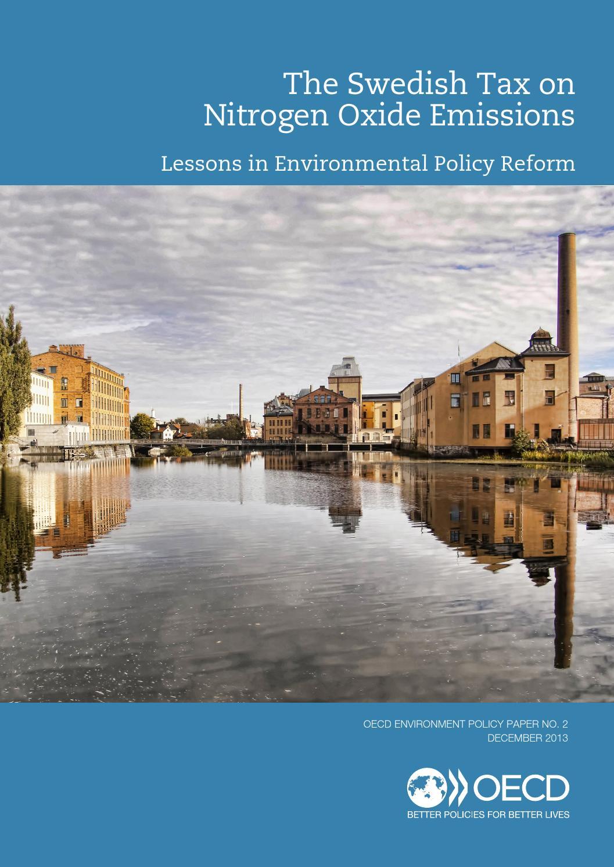 Swedish Tax on Nitrogen Oxide Emissions Lessons in