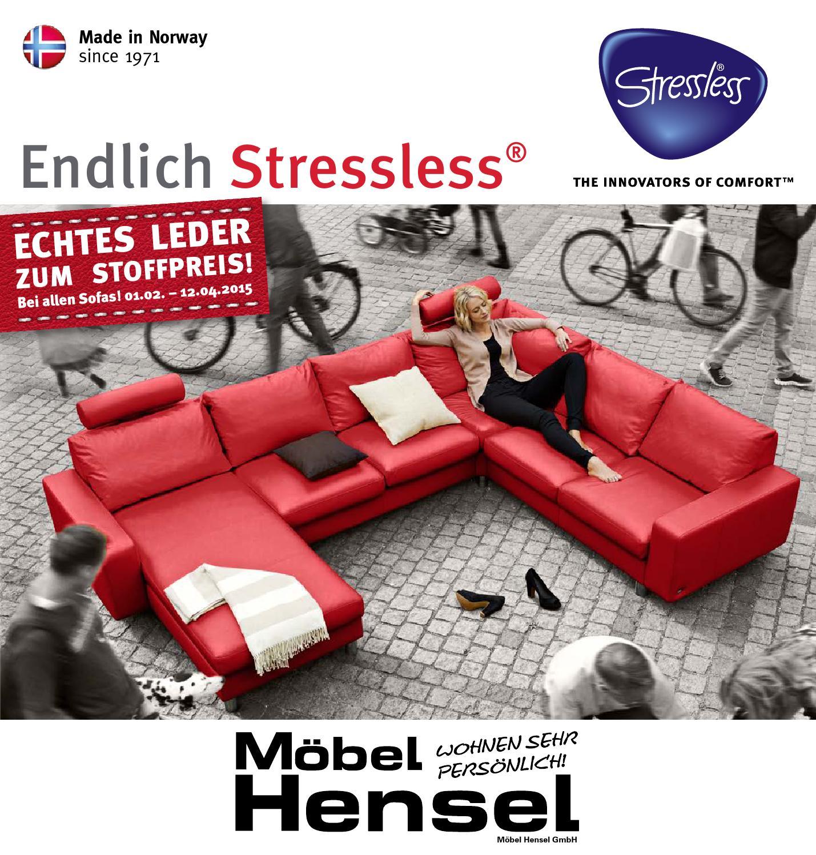 Stressless Fruhjahr 2015 By Mobel Hensel Issuu