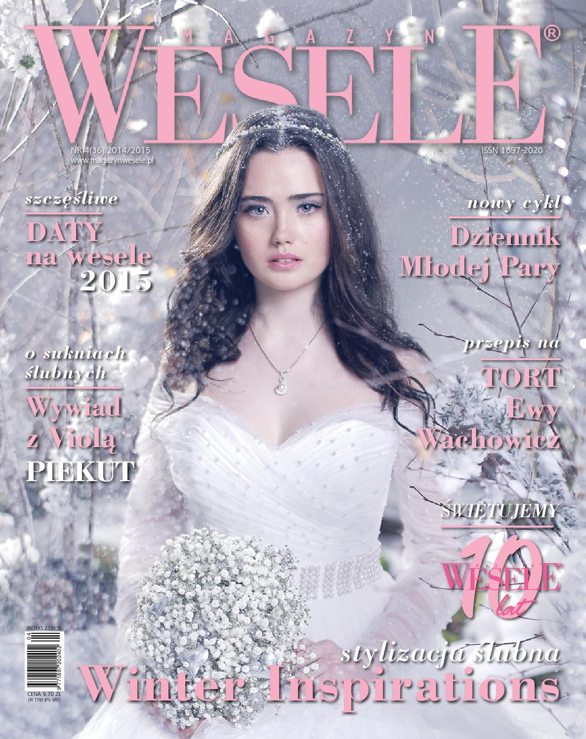 2137d76d6d Magazyn Wesele 4(36) 2014 2015 by Magazyn Wesele - issuu