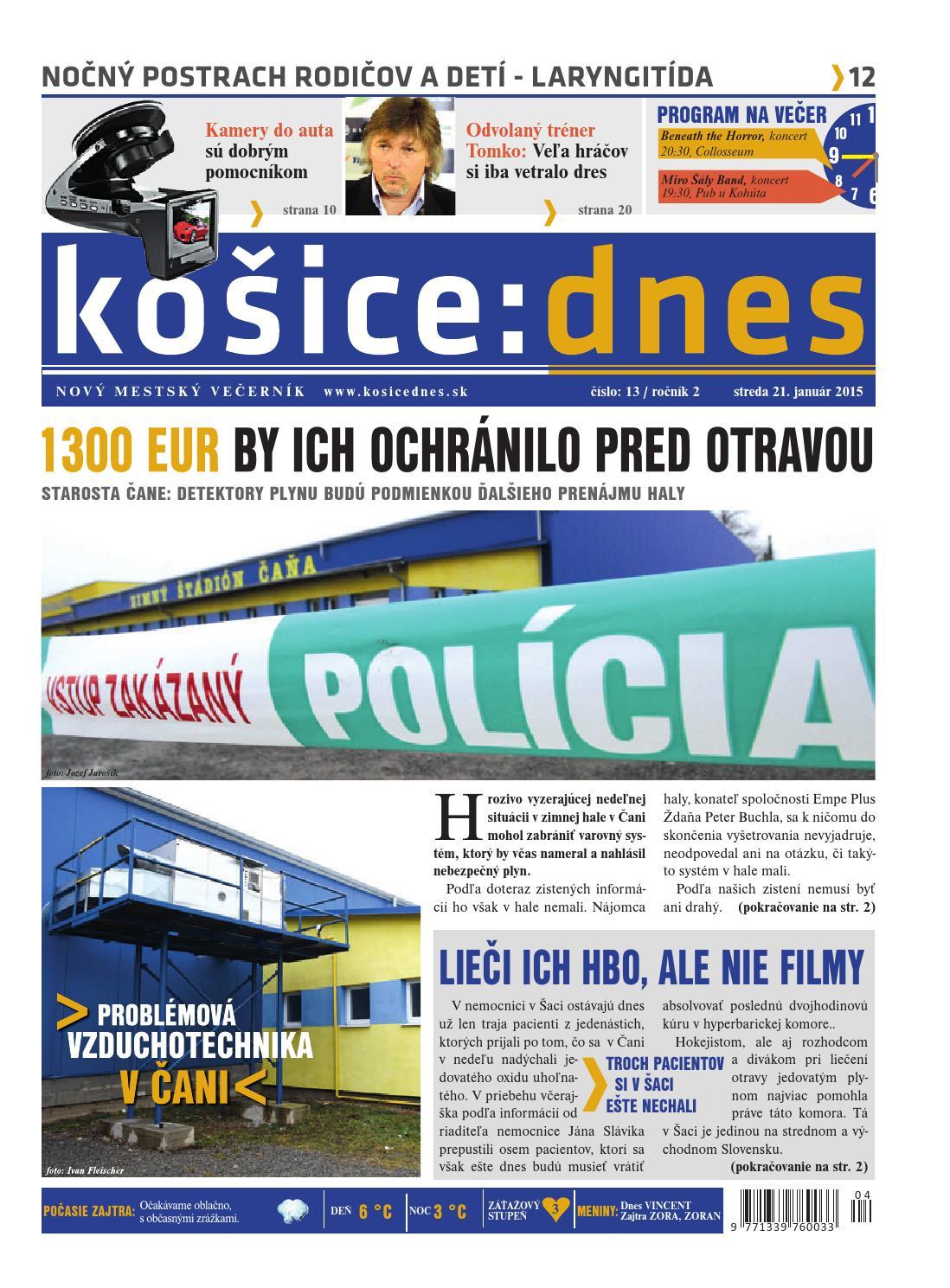 košice dnes by KOŠICE DNES - issuu e79d42c2444