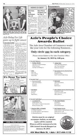 Page 4. 4A. Azle News