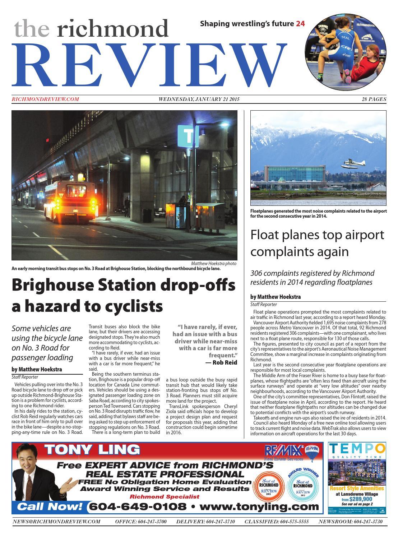 Richmond Review, January 21, 2015