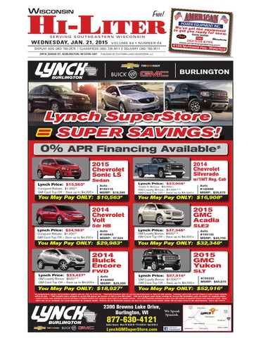 Lynch Gm Superstore >> Wis hili final by Southern Lakes Newspapers - Issuu