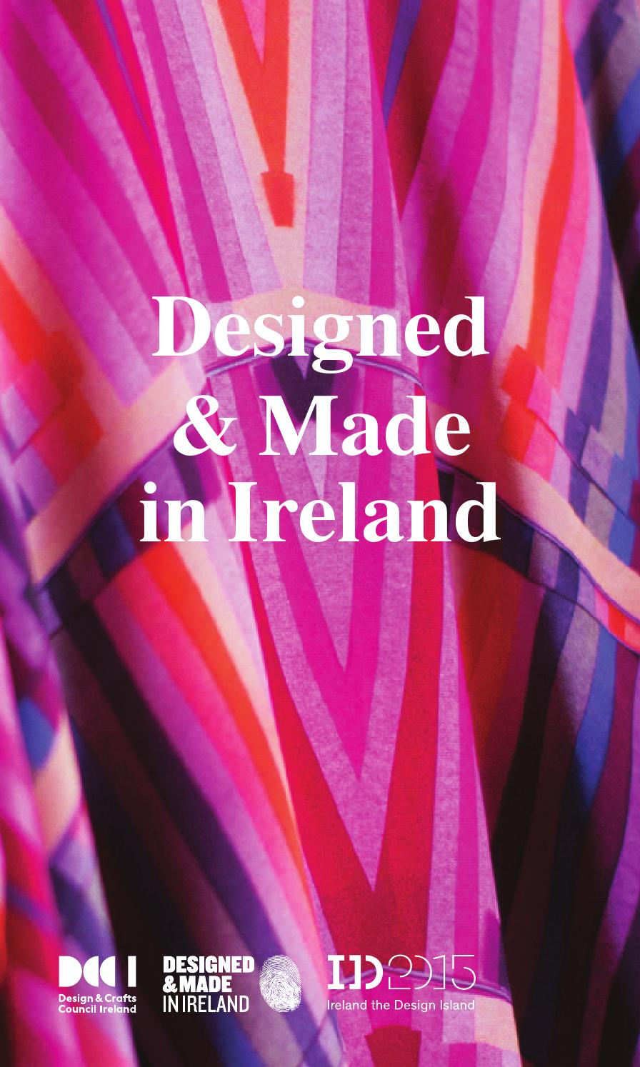 Designed & Made in Ireland - Creative Island 2015 by Design & Crafts ...