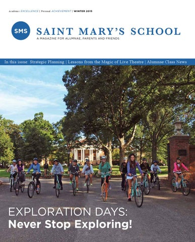 Saint marys school alumnae magazine winter 2015 by saint marys page 1 sciox Image collections