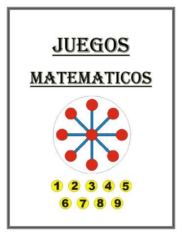 Juegos Matematicos By Vircotr Issuu