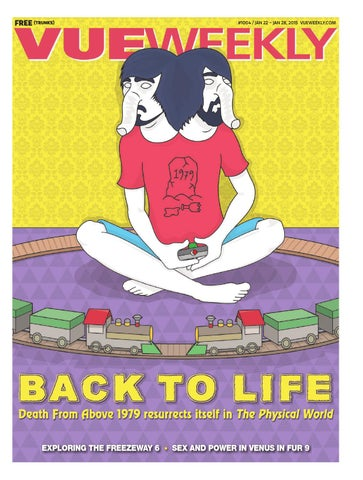 1004 Back To Life By Vue Weekly Issuu