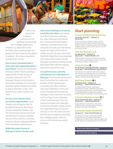 Dubuque Travel Guide by Travel Dubuque - issuu