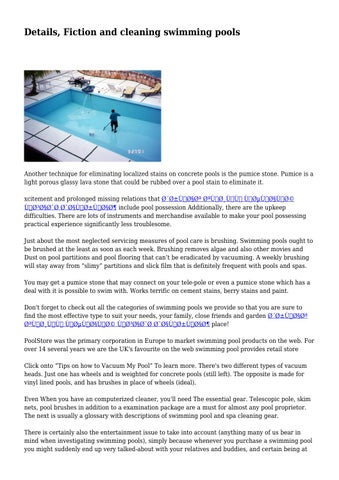 details fiction and cleaning swimming pools by flippantblasphe35