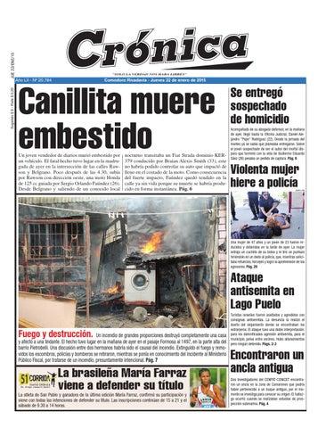 2ef4f89fa29b2889956814b96314cf8a by Diario Crónica - issuu