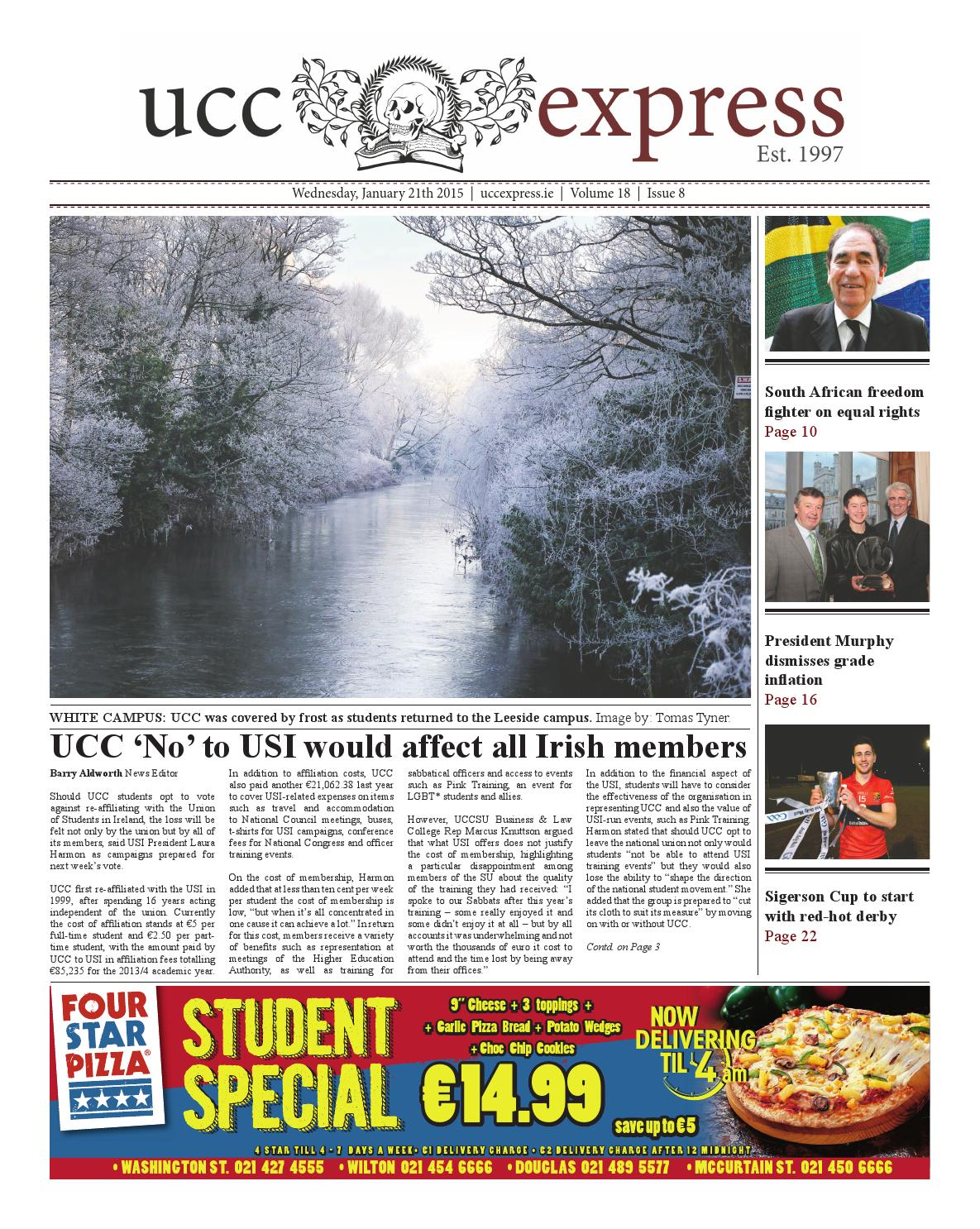 UCC Express Issue 8
