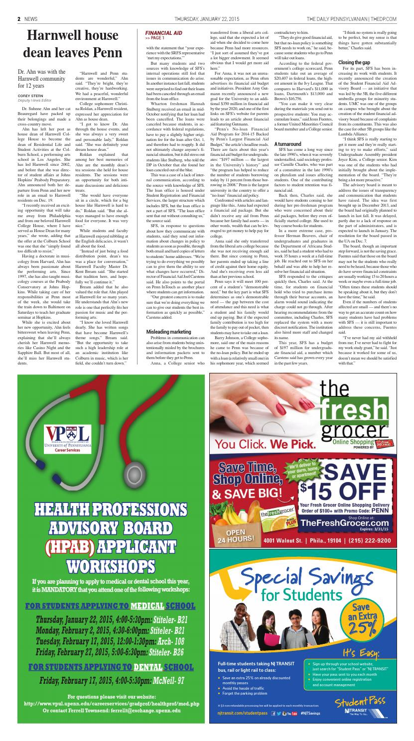 January 22, 2015 by The Daily Pennsylvanian - issuu