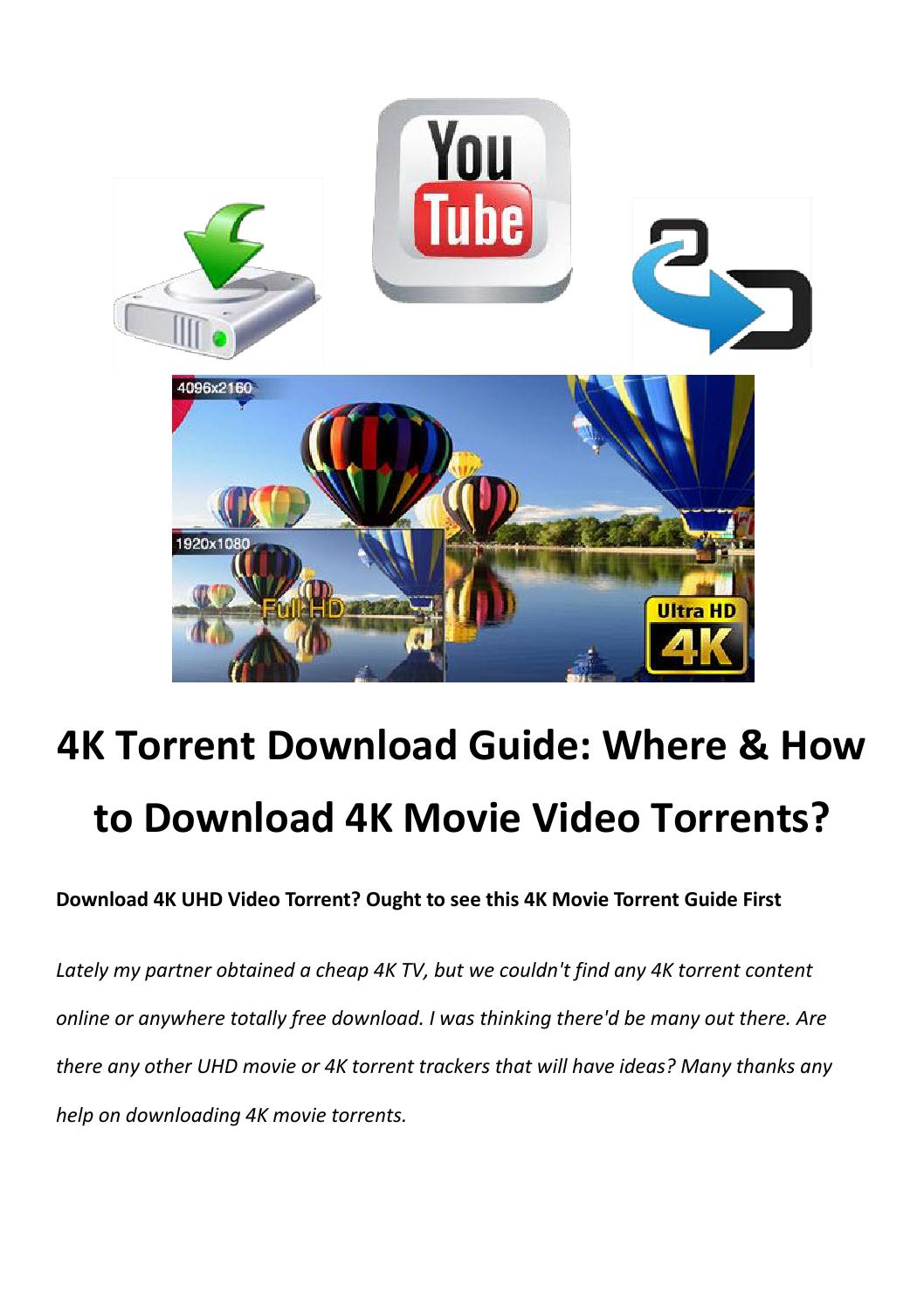 4k Torrent Download Guide By Rick Drolet Issuu