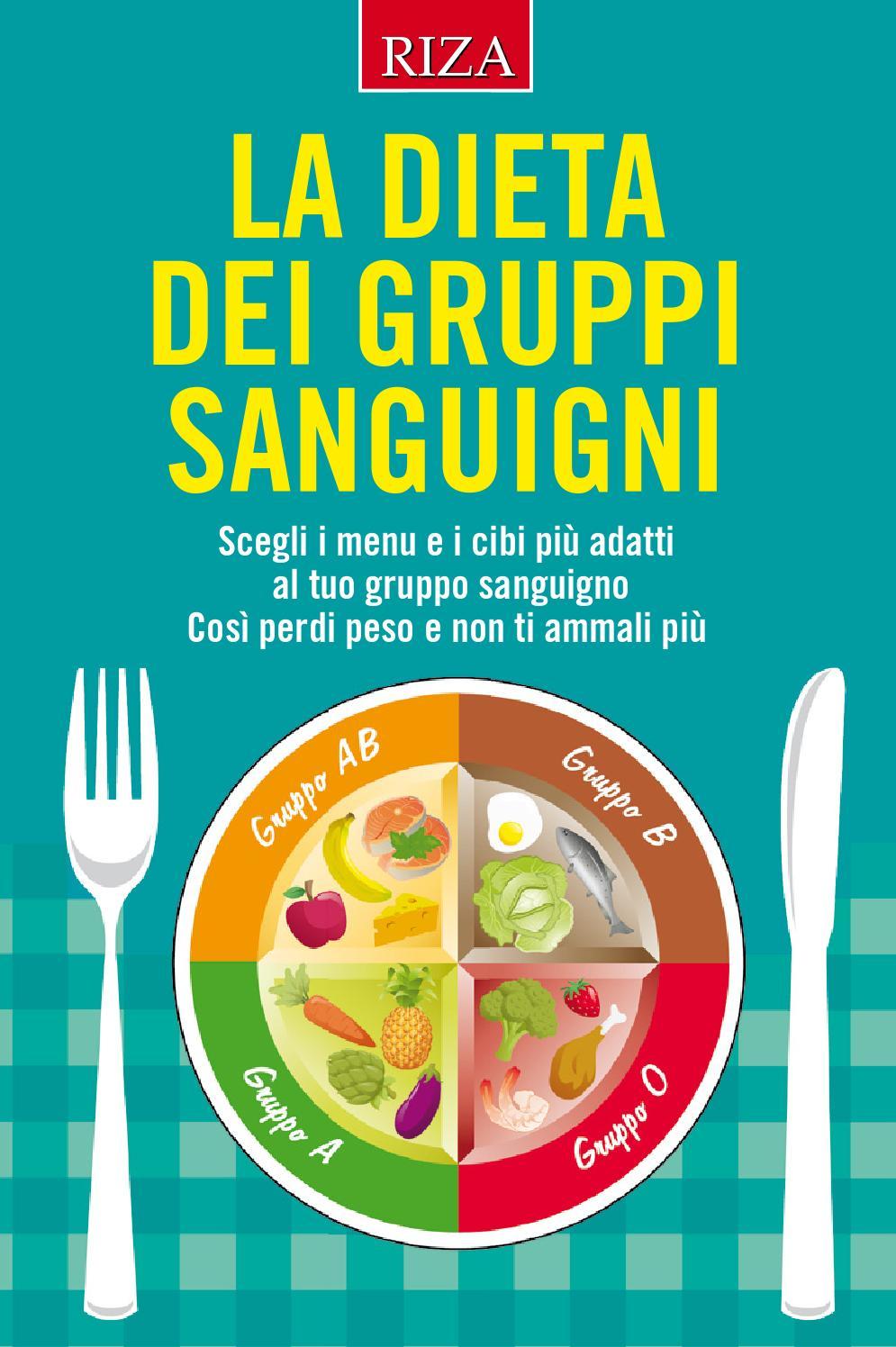 dieta del gruppo sanguigno 0 positivo pdf