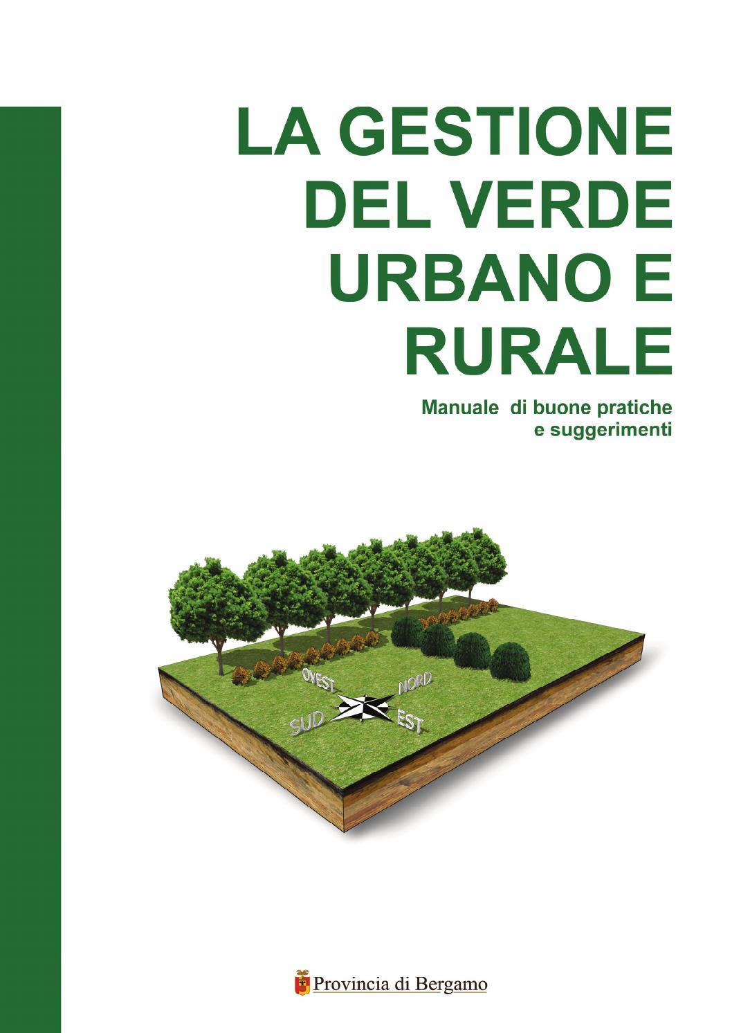 La gestione del verde urbano e rurale by provinciabergamo