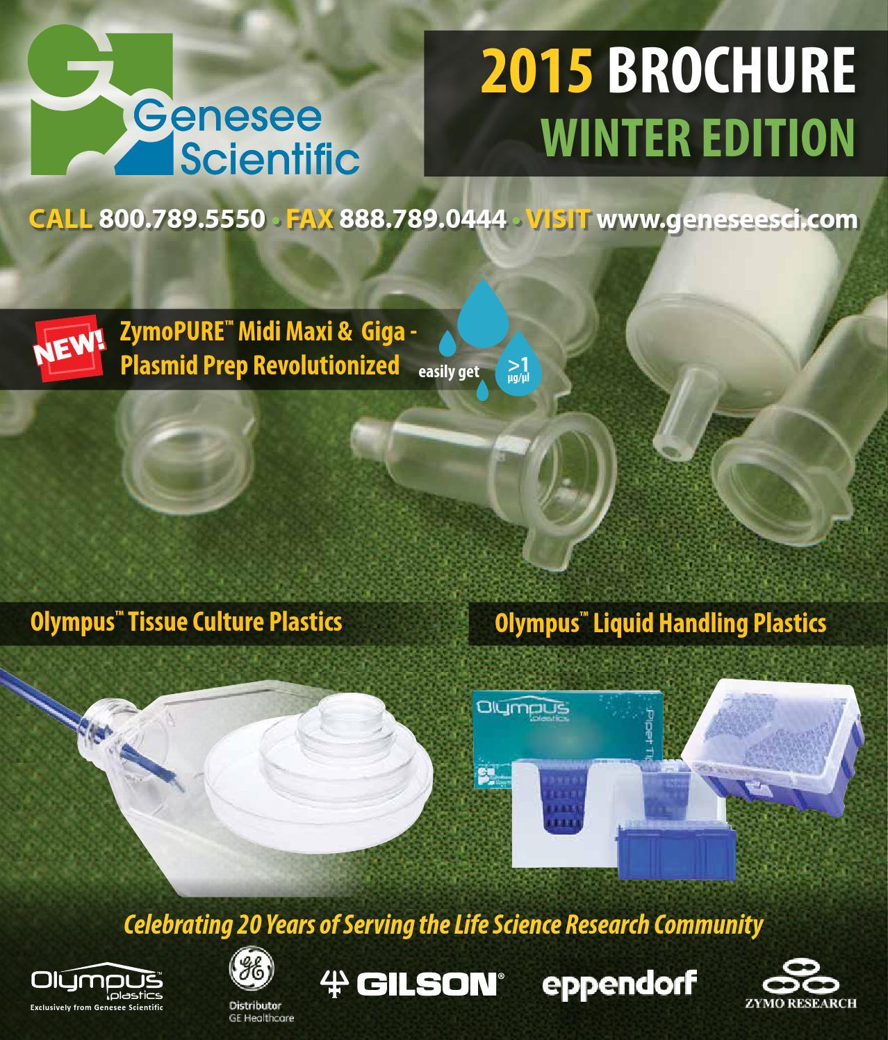 Zymopure Binding Buffer: Catalogo Genesee By Fermelo Biotec