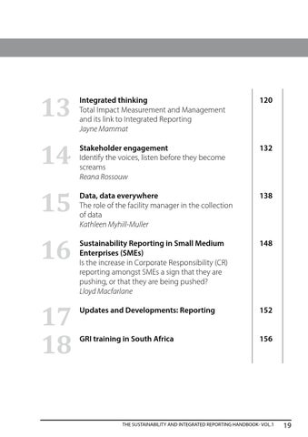 The Sustainability and Integrated Reporting Handbook Volume 1 by