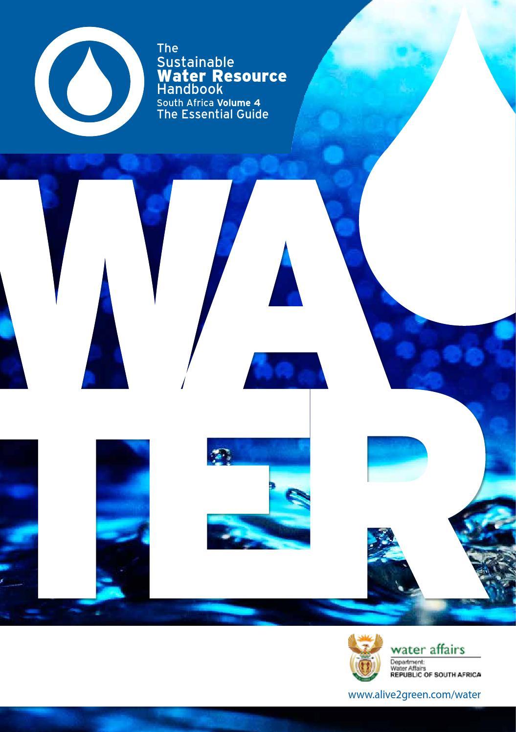 The Sustainable Water Resource Handbook Volume 4 by Green Economy ...