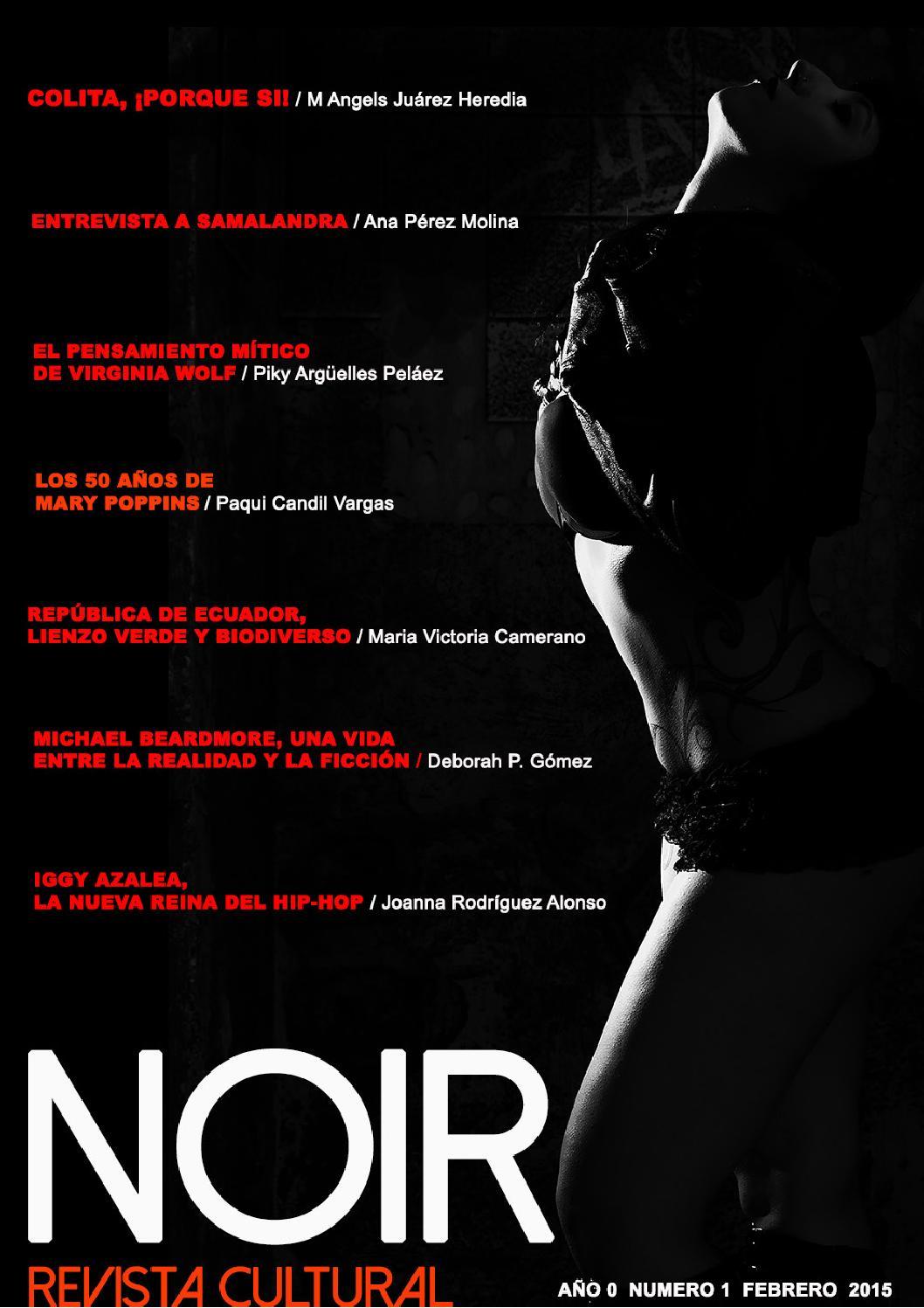Noir, Revista Cultural. Núm 1 Febrero 2015