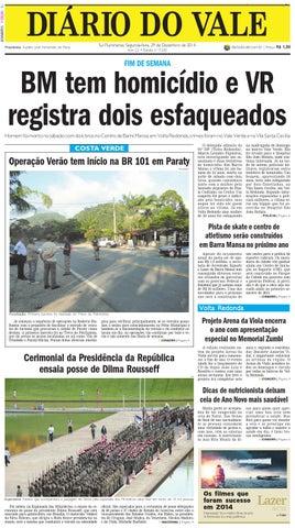 7530 diario segunda feira 29 12 2014 by Diário do Vale - issuu 9f87e132c35