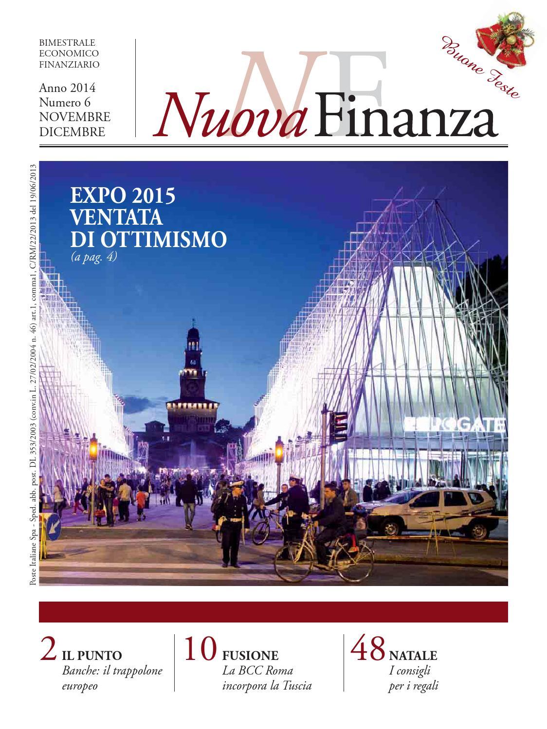 Bcc Montepulciano Nuova Sede nuova finanza 6/2014 by nuova finanza - issuu