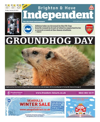 Brighton Hove Independent 23 January 2015 By Brighton Hove
