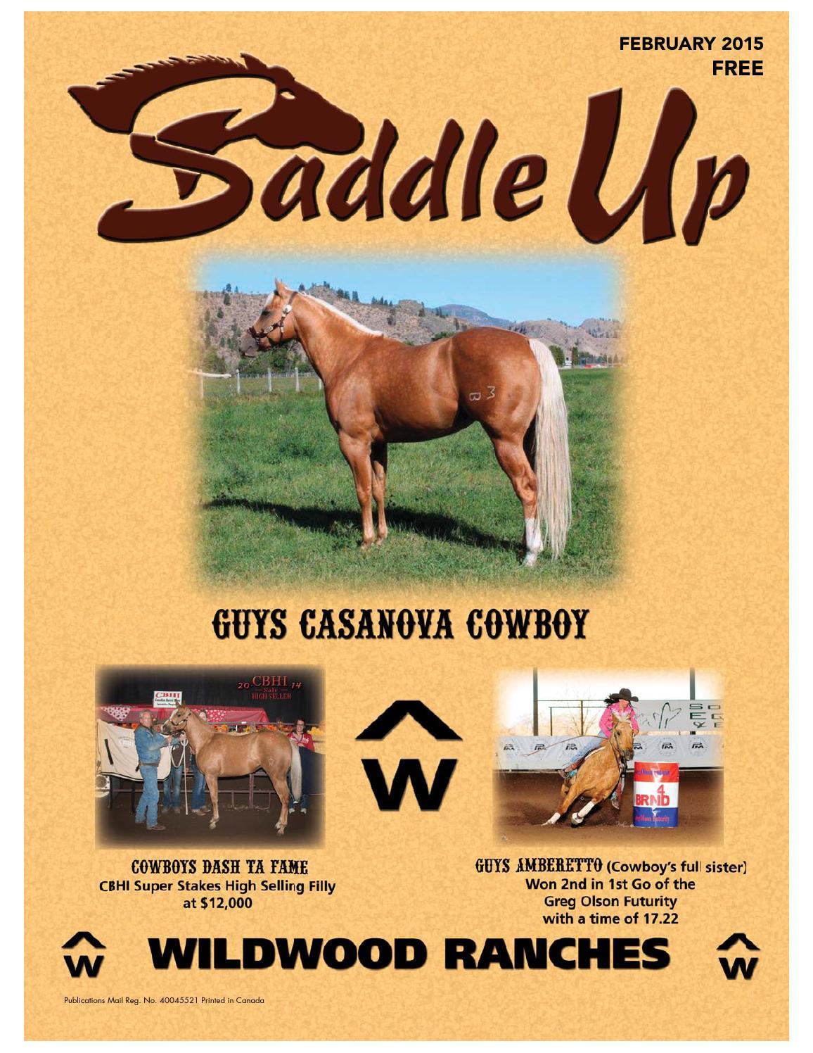 Saddle Up Feb 2015 by Saddle Up magazine - issuu 9e0da2f978