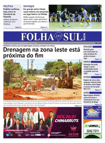 Folha do Sul Gaúcho Ed. 1442 (23 01 2015) by Folha do Sul Gaúcho - issuu a214997dcb7