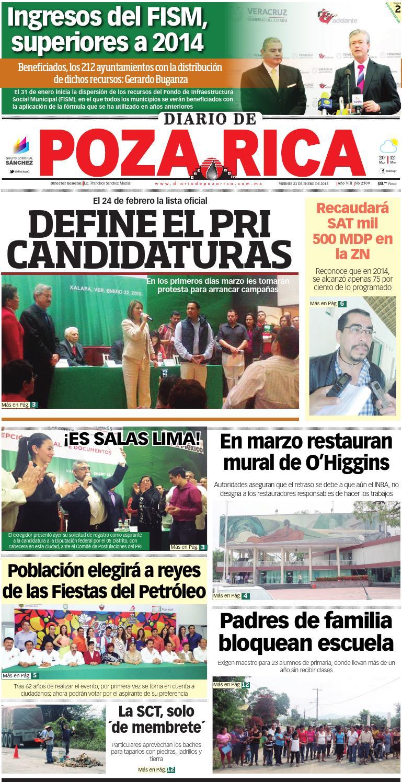 Diario De Poza Rica 23 De Enero De 2015 By Diario De Poza Rica Sa  # Muebles Buganza