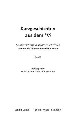 Liebesgeschichten by Sekundarschule Nägelimoos issuu