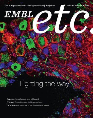 EMBLetc Winter 2014/15 by European Molecular Biology Laboratory