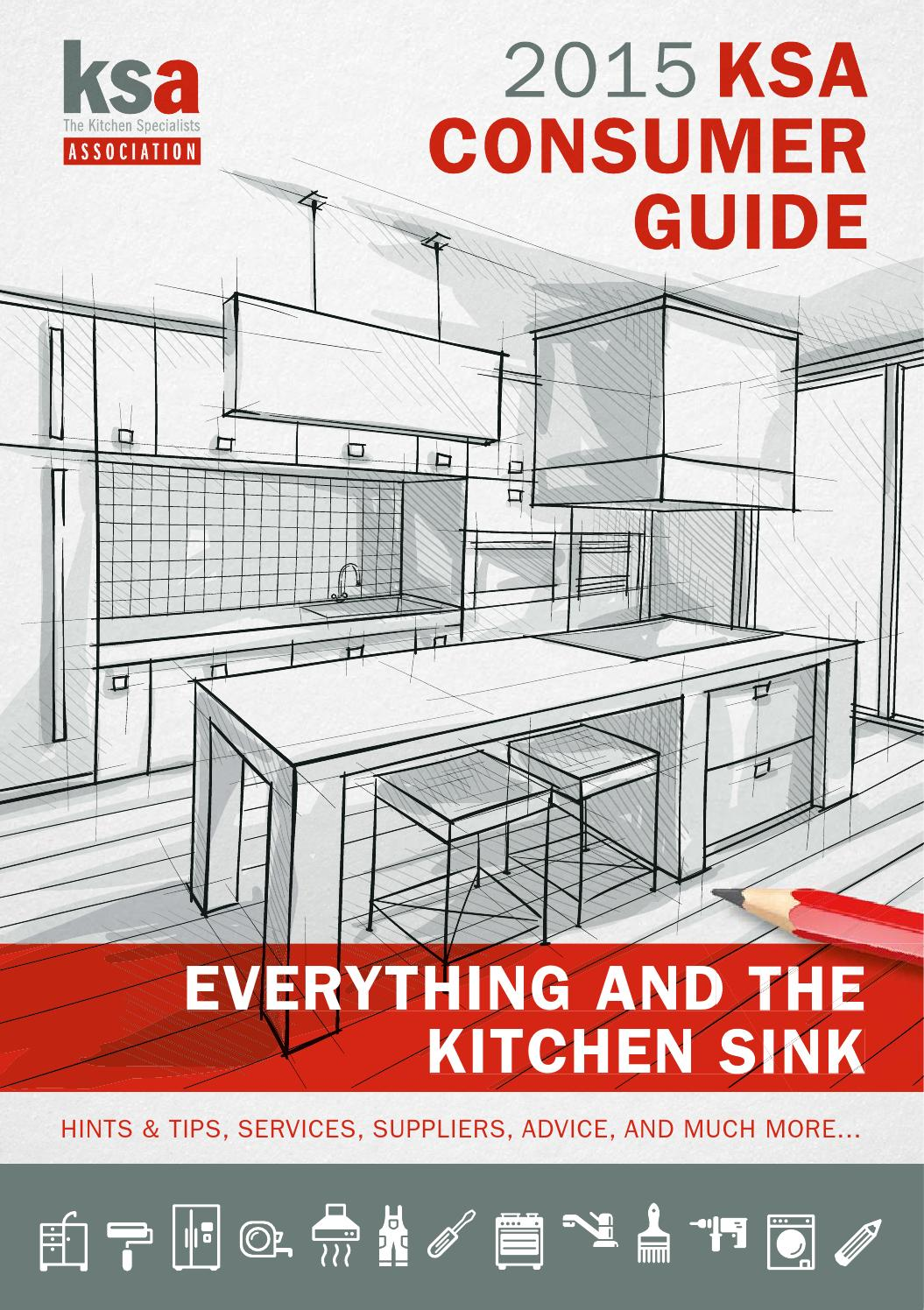 KSA Consumer Guide 2015 by The Kitchen Specialists Association ...