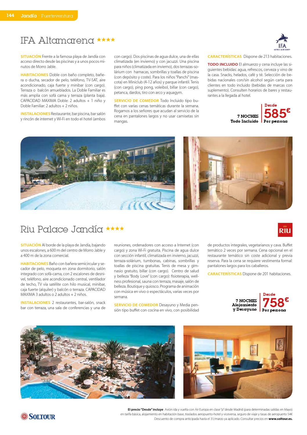 Canarias 2015 By Soltour Issuu