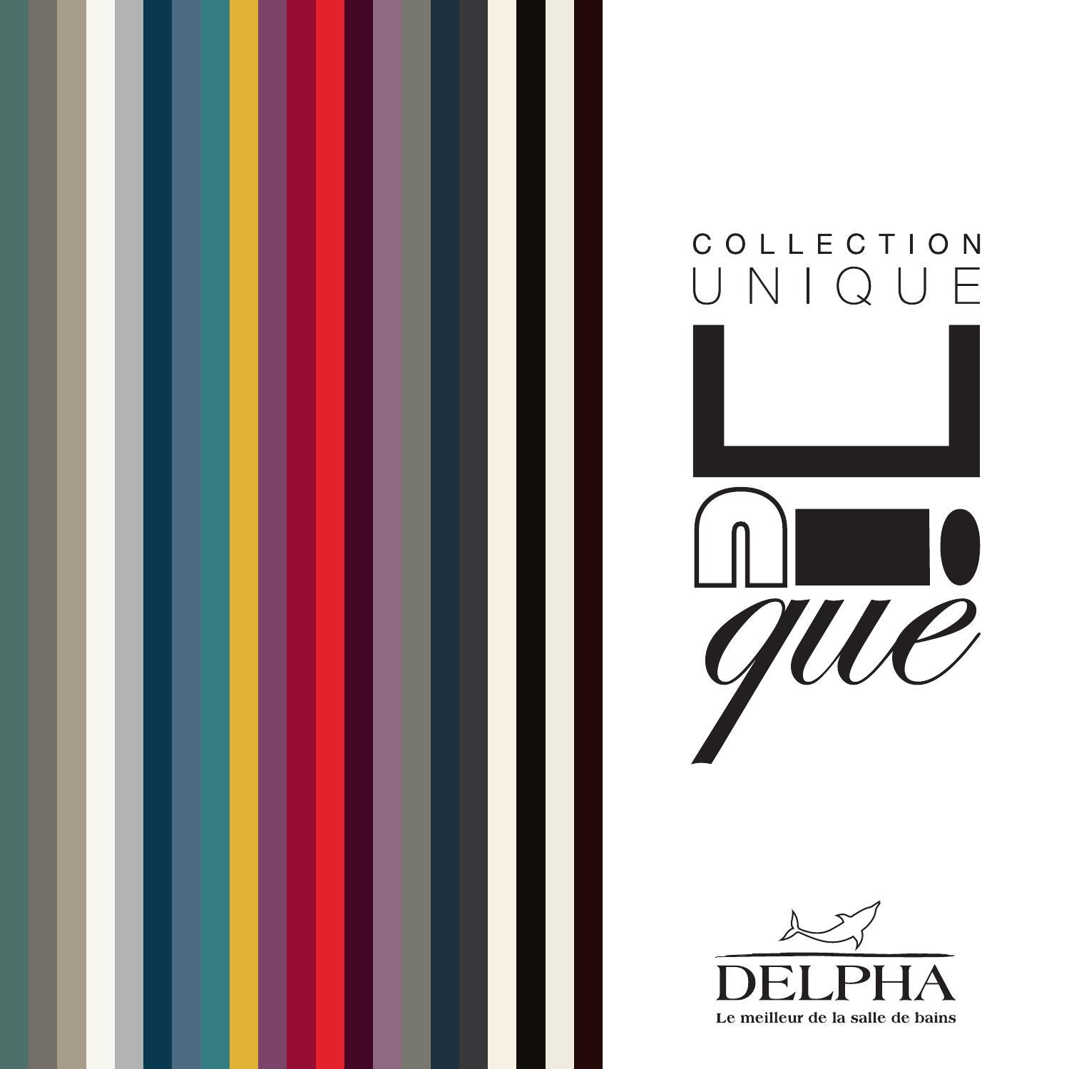 Catalogue meubles de salle de bains collection Unique 2015 by Delpha - issuu 2b8acbb754f4