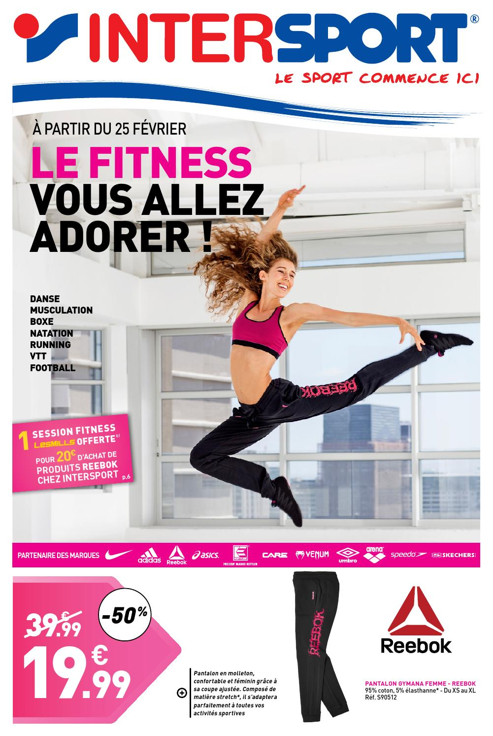 Intersport France Fitness By Adorer Aller Vous Issuu Le wRpngqIFWI