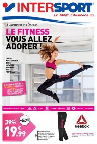 Le Fitness Vous Aller Adorer Intersport By Intersport France Issuu